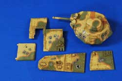 Verlinden POINT BLANK CHAR B1 BIS 1:35, LIST PRICE $24.95