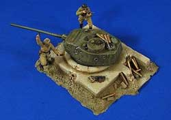 Verlinden GER T34 TURRET BUNKER Figs 1:3, LIST PRICE $64.95