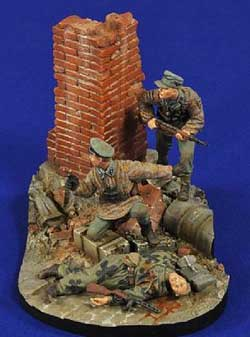 Verlinden HOMELAND DEFENSE VIGNETTE 1:35, LIST PRICE $34.95