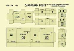 Verlinden CARDBOARD BOXES PETROLEUM 1:24, LIST PRICE $5.36