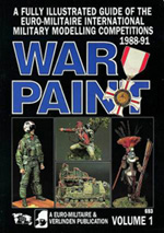 Verlinden WAR PAINT EUROMILITAIRE BOOK #, LIST PRICE $21.58