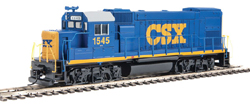 Walthers Train Line HO EMD GP15-1 Diesel CSX, DUE 10/30/2019, LIST PRICE $69.98