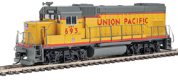 Walthers Train Line HO EMD GP15-1 Diesel UP, DUE 10/30/2019, LIST PRICE $69.98