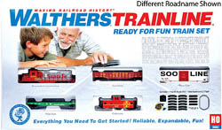 Walthers Train Line HO RtR Train Set CP, LIST PRICE $190