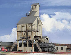 Walthers Cornerstone HO MODERN COALING TOWER, LIST PRICE $65.98