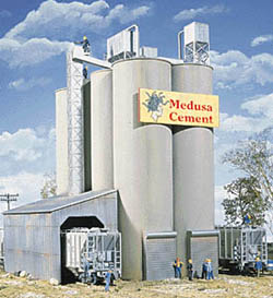 Walthers Cornerstone HO MEDUSA CEMENT COMPANY, LIST PRICE $44.98