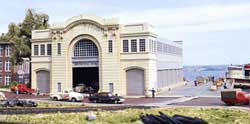 Walthers Cornerstone HO PIER TERMINAL, LIST PRICE $59.98
