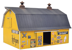 Walthers Cornerstone H Antiques Barn, LIST PRICE $39.98