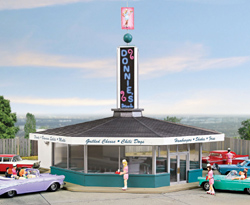 Walthers Cornerstone H Donnies Drive In, LIST PRICE $39.98