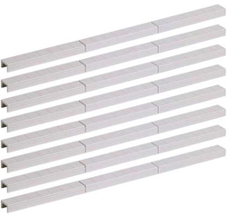 """Walthers Cornerstone HO Trackside Signal Ducts 24 pcs Total Length 46"""" 117cm, DUE 1/28/2019, LIST PRICE $7.98"""