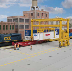Walthers Cornerstone HO Intermodal Yard Pavement Kit, LIST PRICE $34.98