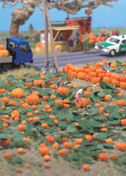 Walthers Scenemaster HO Pumpkin Patch 80pc Set, DUE 9/1/2017, LIST PRICE $11.98