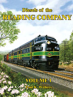Withers Publishing A Book Diesels of the Reading Company, LIST PRICE $65