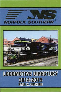 Withers Publishing NS Loco Directory 2014-2015, LIST PRICE $34.95