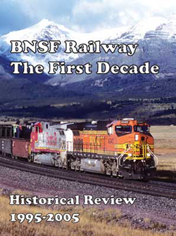 Withers Publishing A BNSF The First 10 Years, LIST PRICE $59.95