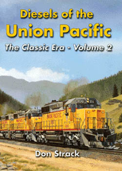 Withers Publishing Diesels of the UP Vol 2, LIST PRICE $50