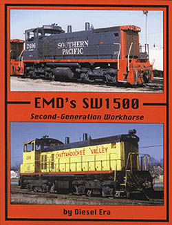 Withers Publishing EMD's SW1500, LIST PRICE $35