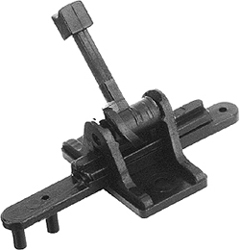 Caboose Ind CAB.IND. N RIGID GROUND THROW STAND, LIST PRICE $3.3