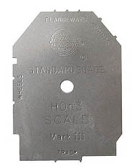 NMRA HON3 TRACK GAUGE, LIST PRICE $12